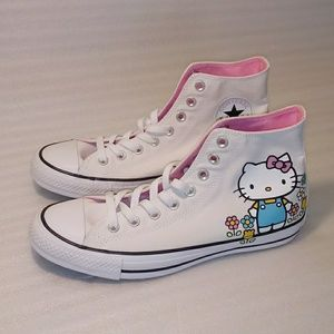 Converse High Top Hello Kitty size 10